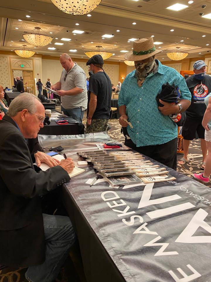Chris Whaley SIGNING BOOKS!